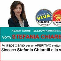 Aperitivo con Stefania CHIARELLI Sindaco...Vi Aspettiamo