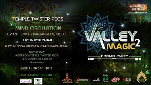 Mind Oscillation (Greece) live in Hyderabad June 7 at The