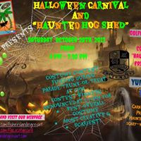 Fishers Landing Halloween Carnival and Haunted &quotHog Shed&quot