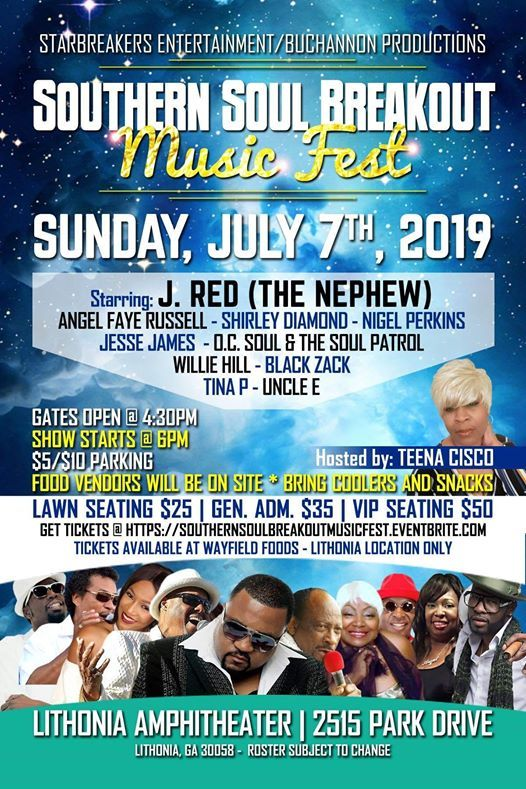 Southern Soul Breakout Music Festival at Lithonia