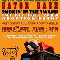 The Pitbull Crew - Gators Crossroads Smokin In The Swamp Party
