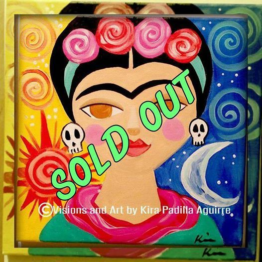 SOLD Out-Byob Viva La Frida Painting Class