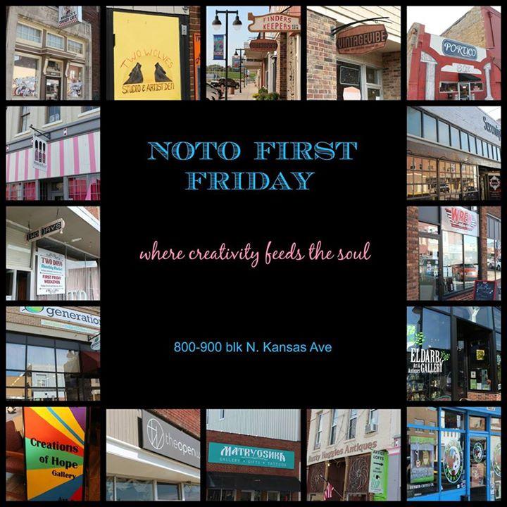 August First Friday; Art Walk In NOTO At NOTO Arts