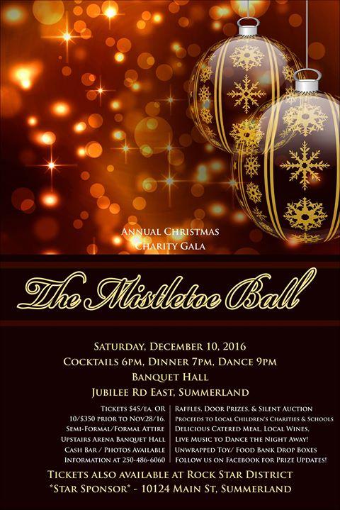 The Mistletoe Charity Ball
