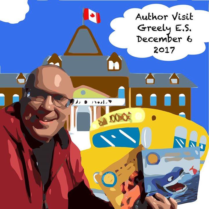 Author Visit Greely ES