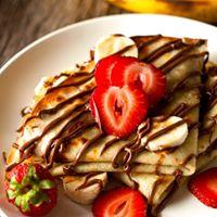 Bannana Strawberry nutella