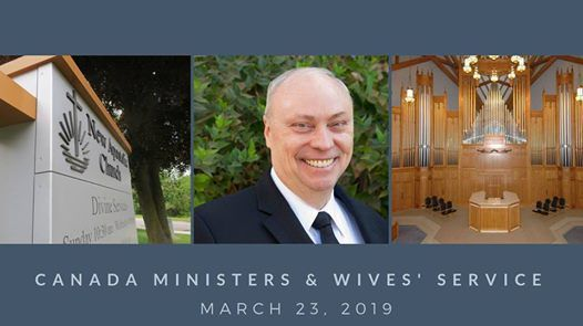 Canada Ministers & Wives Service incl retirees & leaders