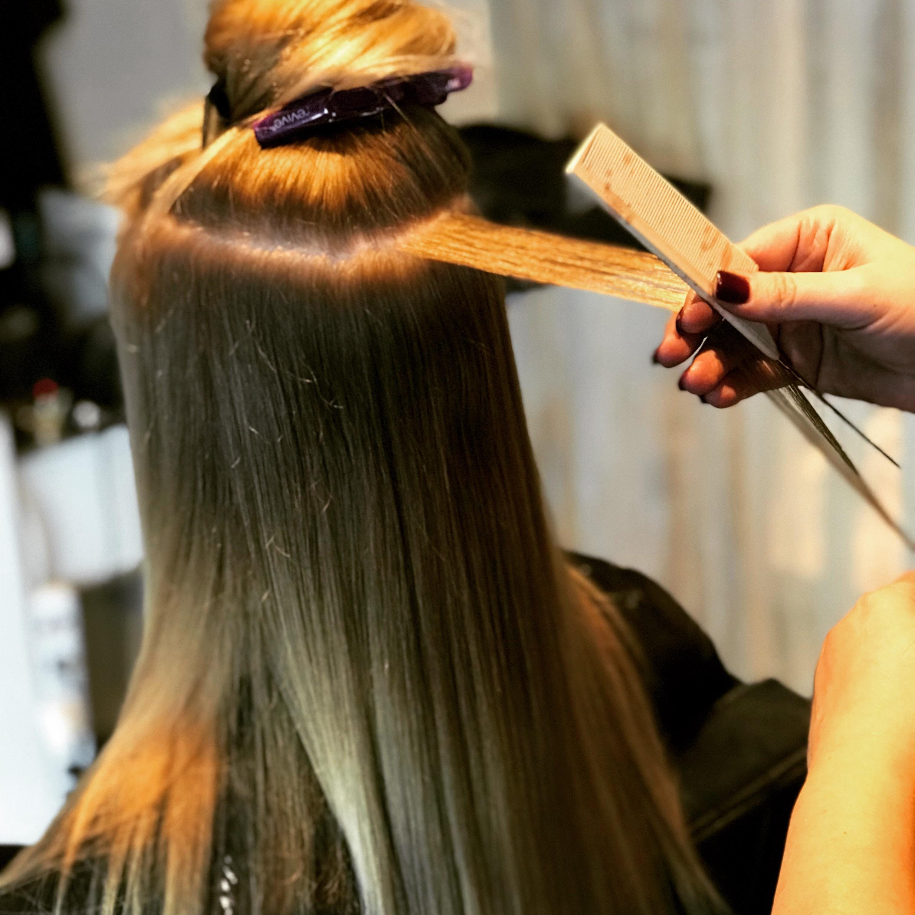 Flaunt Hair Extensions Class At Blo Posh Beauty Bar Oklahoma City