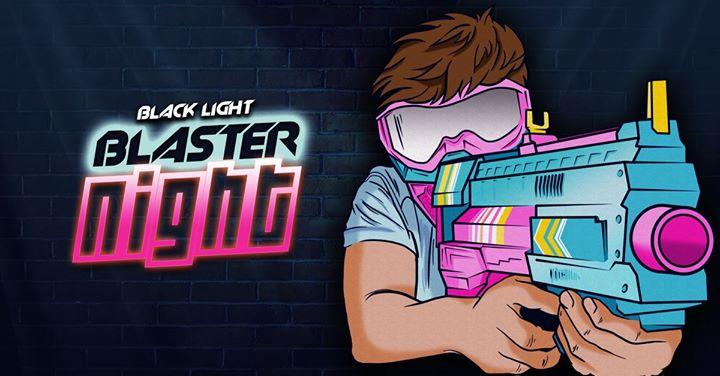 Black Light Blaster Party