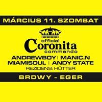 Coronita Commando Mrcius 11. BRDWY - Eger