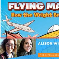 Alison Wilgus &amp Molly Brooks Talk &amp Draw Flying Machines