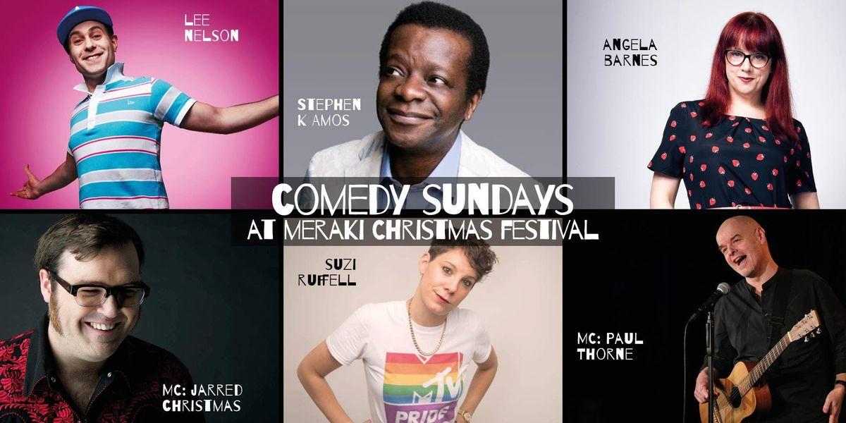 Meraki Christmas Comedy Sundays