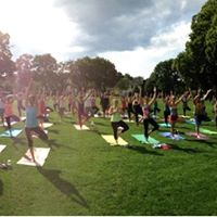 Practice in the Park - Yoga