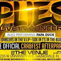 PLIES Live in Concert (OFFICIAL CRABFEST AFTER PARTY)