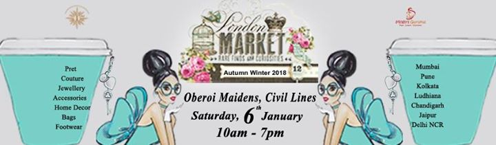 London Market at Oberoi Maidens Civil Lines