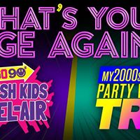 GO 90s &amp my2000s Party Whats Your Age Again