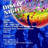 Disco Night 60s 70s and 80s