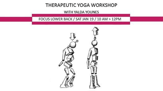 Therapeutic Yoga  Focus Lower Back and Hips with Yalda Younes