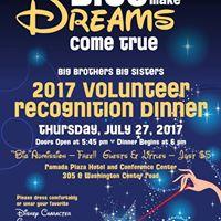 2017 Volunteer Recognition Dinner