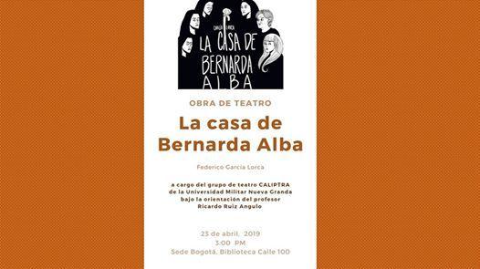 Obra de teatro La CASA De Bernarda ALBA
