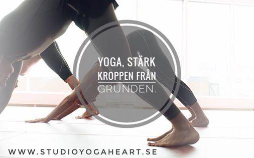 Yoga strk kroppen frn grunden. Med Helen Studio Yogaheart