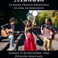 Concierto de Manush en Bariloche