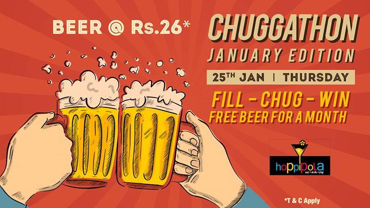 January Chuggathon  Hopippola Chennai
