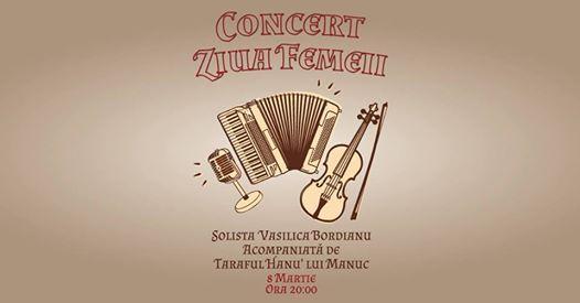Concert cu taraf de 8 martie