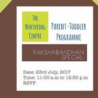 Parent-Toddler DIY Rakhi Workshop