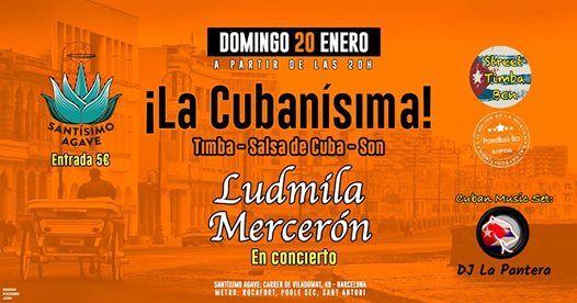 Ludmila Mercern en La Cubansima