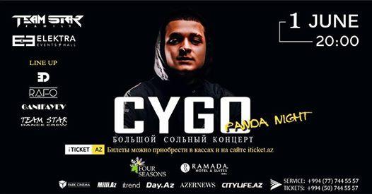 CYGO in Baku - PANDA Night