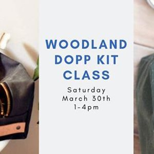 f621ae8417a0 Woodland Dopp Kit Class at The Confident Stitch