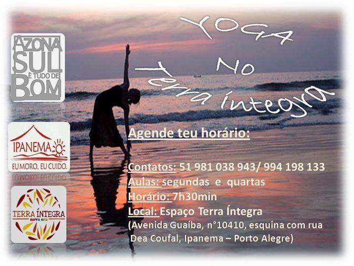 yoga curso para iniciantes at terra Íntegra, porto alegre