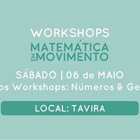 Workshops Matemtica em Movimento  06 de Maio
