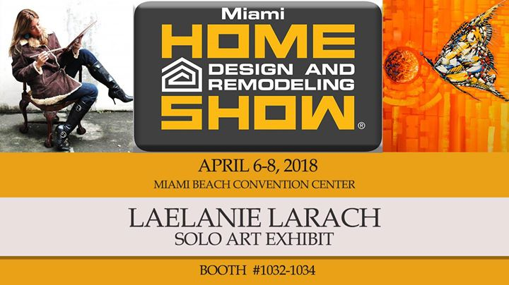 Home Design And Remodeling Show   Laelanie Larach Art Exhibit