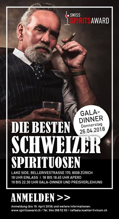 Swiss Spirits Award Die besten Schweizer Spirituosen