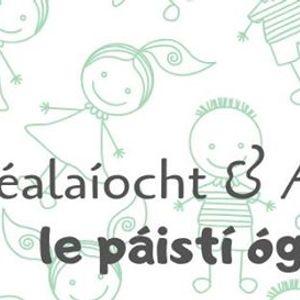 Scalaocht &amp Amhrin i Leabharlann Dn Gharbhin