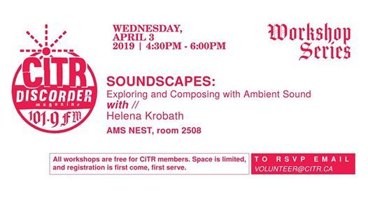 Soundscapes: Exploring and Composing with Ambient Sound at