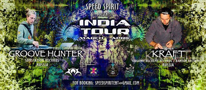 Groove Hunter & Kraft  INDIA TOUR