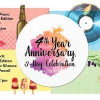 Olive Bistros 4th Year Celebration - 3 Day Celebration