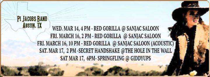 Pi Jacobs Band - Mar 14- 17