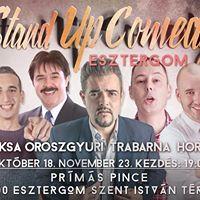 Stand up comedy Roadshow vacsorval Esztergomban