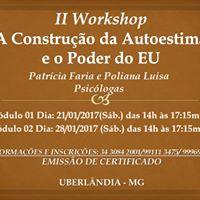 II Workshop A Construo da Autoestima e o Poder do EU