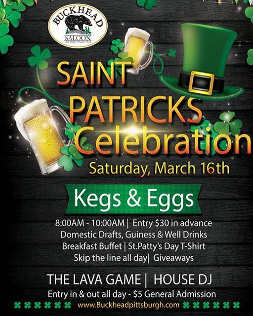 St. Patricks Day at Buckhead Saloon 2019