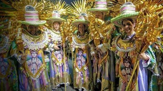 Visita a Escola de Samba Grande Rio
