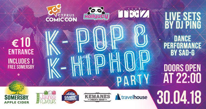K-POP & K-Hiphop Party