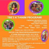 TBEs Ktanim Program