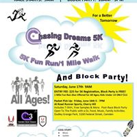 Camden Clock Chasers 2nd Annual 5K RunWalk and Block Party
