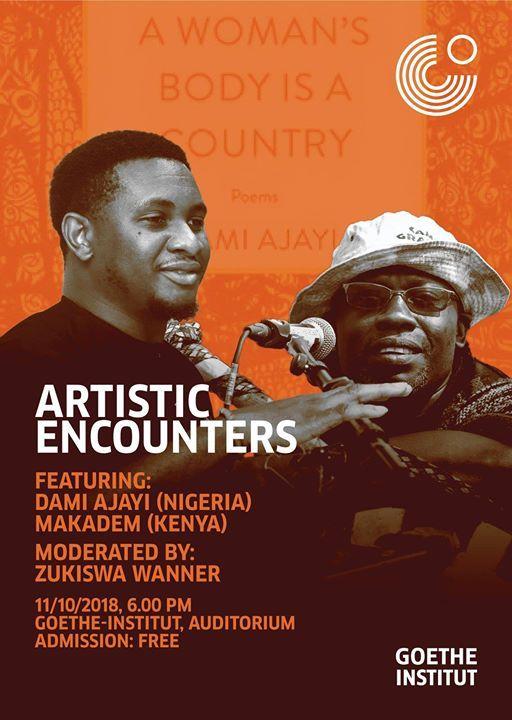 Artistic Encounters Makadem and Dami Ajayi