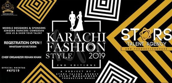 Karachi Fashion STYLE kfs19 2ND Edition